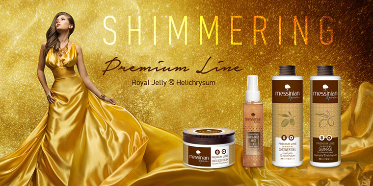 Messinian Spa shimmering premium line