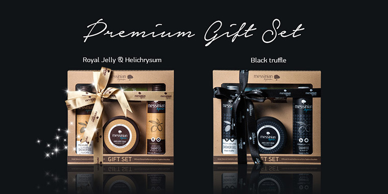 Messinian Spa premium line Gift Sets