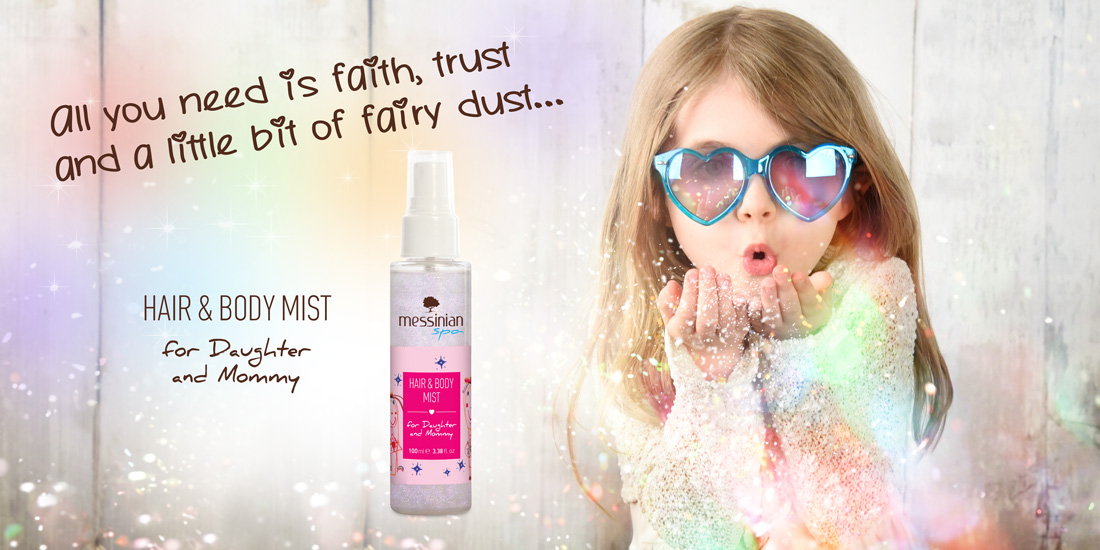 Hair and Body Mist for Daughter and Mommy