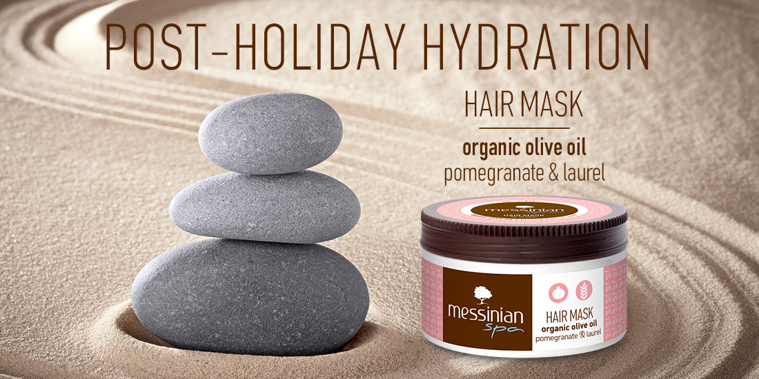 post - holiday hydration hair mask