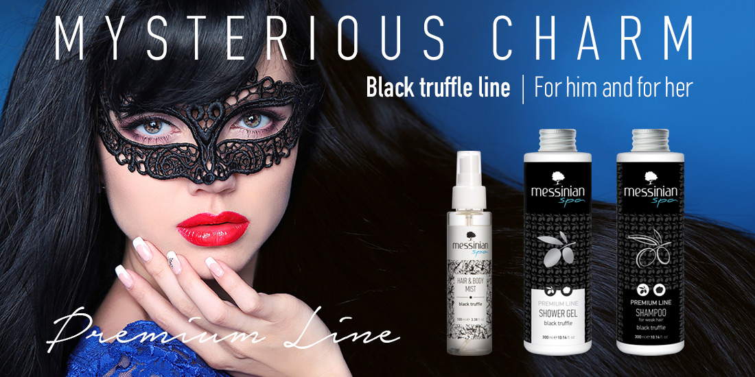 Messinian Spa - black truffle line