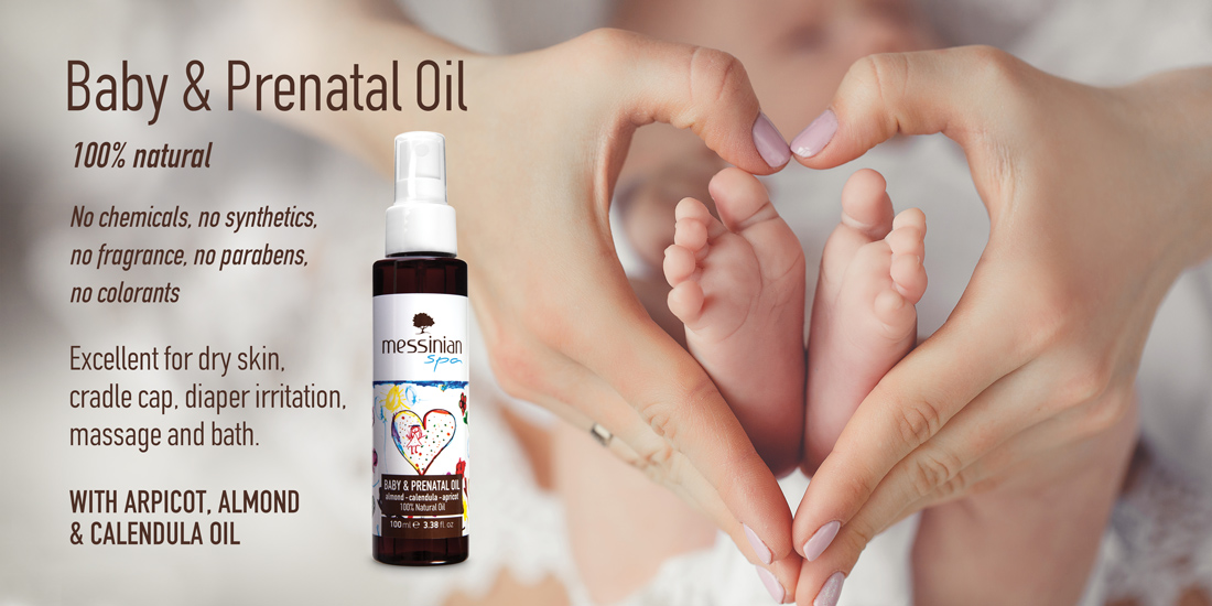Baby and prenatal oil