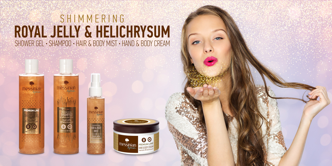 Royal Jelly and Helichrysum premium line