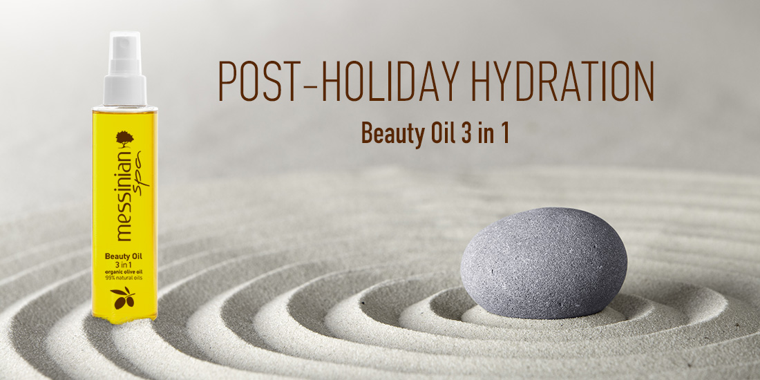 post - holiday hydration beauty oil